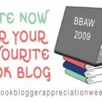 """Åter dags för """"Book Blogger Appreciation Week"""""""