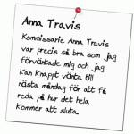 Kommissarie Anna Travis
