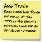 Anna Travis – en klar favorit!