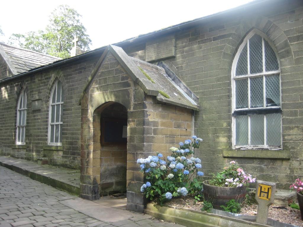 Skolan där Charlotte undervisade