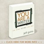 When do you become a writer? When you say you are!
