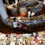 Tänk att få villa bort sig i en labyrint med 250 000 böcker